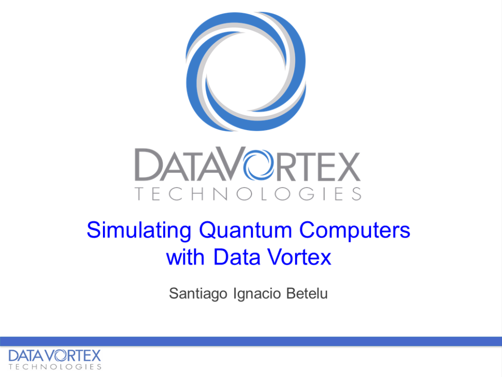 Data Vortex Quantum Computers, Quantum Data Vortex, DV Quantum